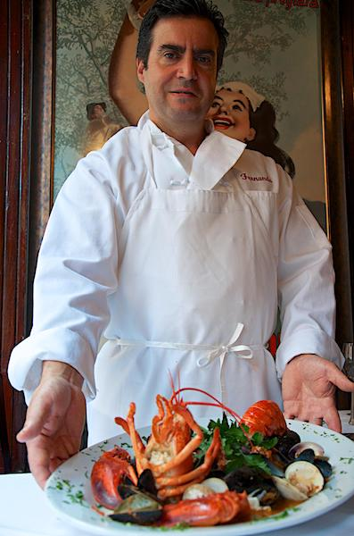 Chef Fernando at Villa Francesca
